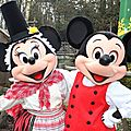 St David's Welsh Festival - <b>Mickey</b> & Minnie join the party!