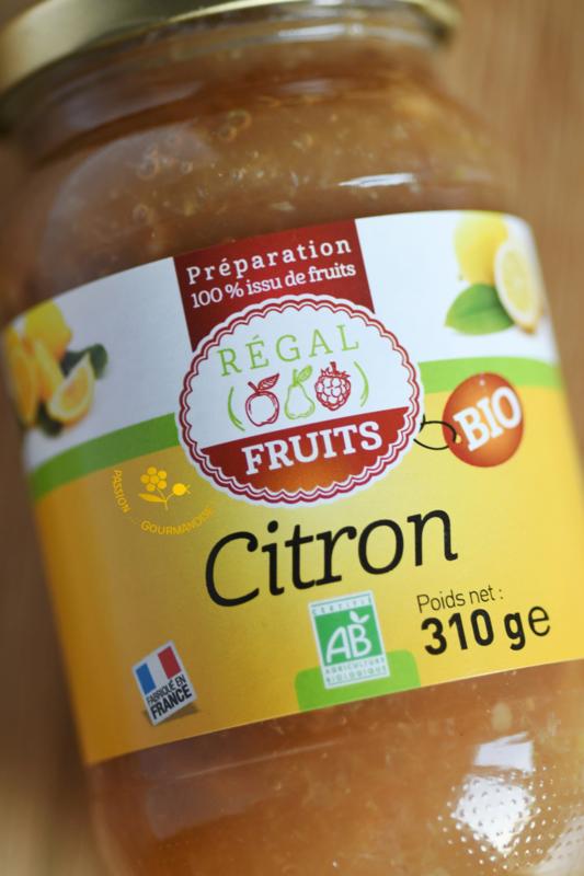 Régal fruits citron