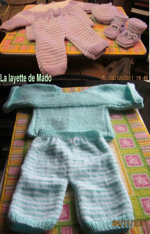 ensemble tricot bebe gratuit