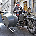Béthune Rétro 2021 - And now, something a lil' different.. a WWII Gnome & Rhône 1941 Sidecar!