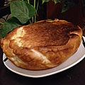 Tourteau fromager du Poitou pour lancement du <b>défi</b> <b>cuisine</b> de janvier sur recette.de