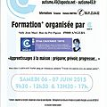 Formation angers