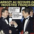 N. sarkozy sauve l'industrie française...