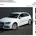 Audi 13 sp