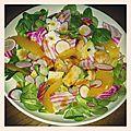 Salade en couleurs et défi culinaire avec ma dreamteam !