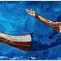 Plongeon dans le grand bleu