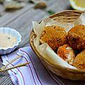 Mes falafels aux amandes
