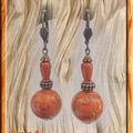 BO Fimo multi orange, miracle et cuivré (N)