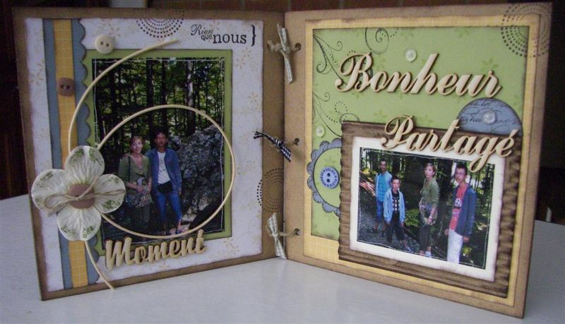 Atelier stampin up fin sept09