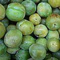 prunes vertes