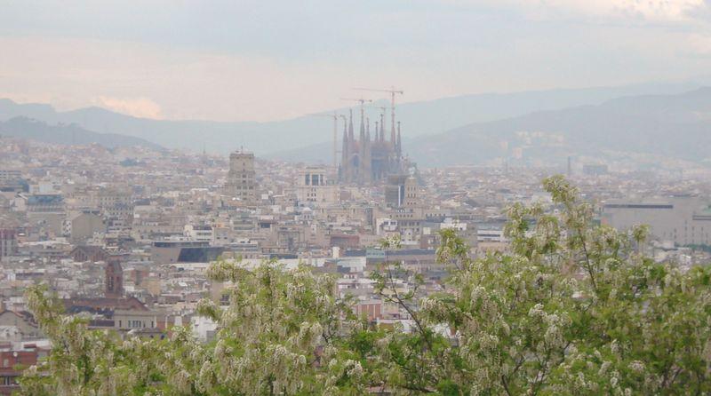 114 vue de barcelone