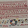 Viola Martini 1876, brodé par Campagne