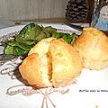 Muffins salés au <b>Reblochon</b>