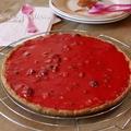 La tarte aux pralines roses