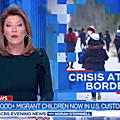 Centres de détention pour migrants et beaucoup d'enfants enfermés par le gvt <b>Biden</b> au Texas