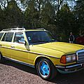 MERCEDES 300 TD turbo diesel W123 break 1979 Hambach (1)