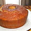 Gâteau brésilien au citron