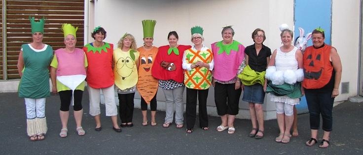 Des fruits et des légumes pour le RAM de Ifs