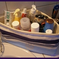 Panière pour salle de bain