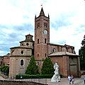 Toscane 10 : Abbaye de Monte Olivetto Maggiore