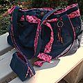 Encore un sac en jean ....