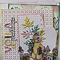 KIT SOLIDAIRE VERSION SCRAP 2018 : VOILA LE PRINTEMPS