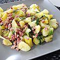 Salade au lard