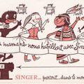 Buvard Singer enfants