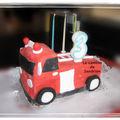Le camion de pompier de Sandrine