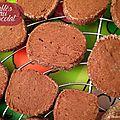 Sablés chocolat pour le goûter de louis