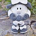April the <b>Easter</b> <b>Egg</b> - Knitting by post