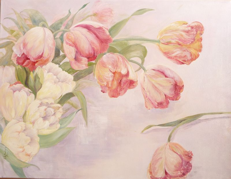 Tulipes 65 x 50