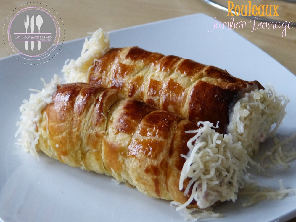 Rouleaux Jambon Fromage