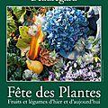 Fête des plantes de saint-jean-de-beauregard