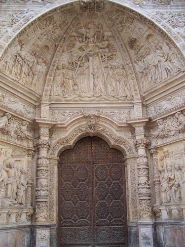 Astorga-Cathédrale entrée