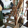 Escalier Bibliothèque Atelier