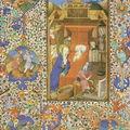 Nativité - Livre d'Heures en Français et en Latin - 1350 - VIENNE