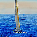 SAILING BOAT 5 FROM LIMITED EDITION OF 6.