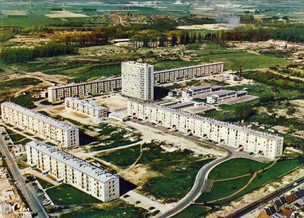 Amiens, le quartier d'Etouvie