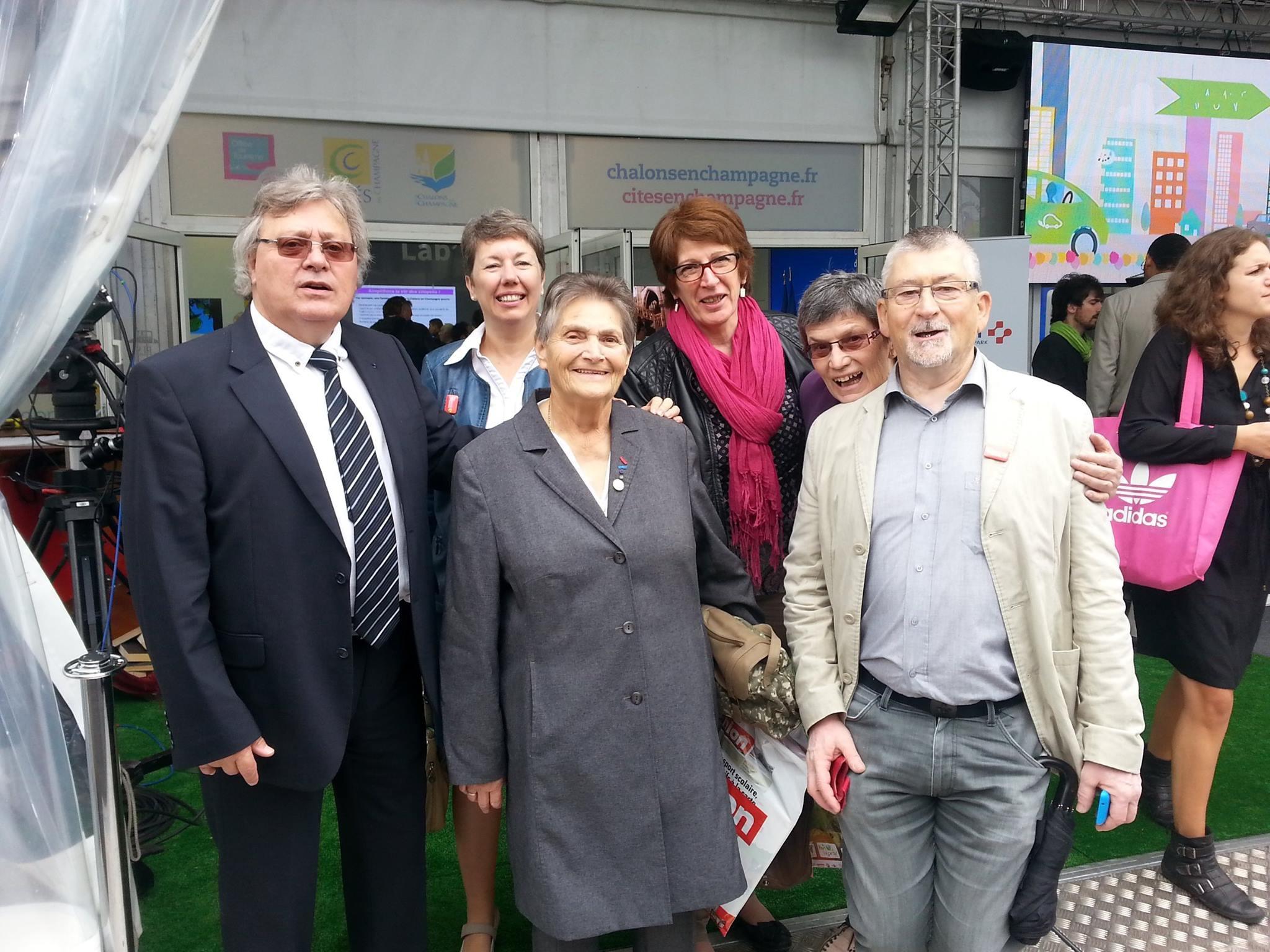 69 ème Foire Expos de Châlons : Inauguration - membres APCSER