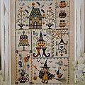 Sal halloween in quilt : objectif 1
