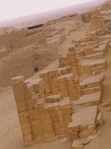 Ruines Sakkara