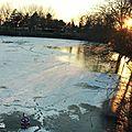 L'instant gelé #2 - soleil couchant