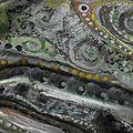 Hervé THAREL SCHMIMBLOCK'S minor 2013 - 18cmx9,5cm acrylique sur argile détai1