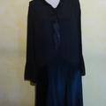 R1413 : Robe noire <b>40</b>'<b>s</b> T.<b>40</b>