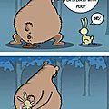 humour projet pour la france ours lapin