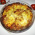 Gratin de cannellonis à la tomate et au thon à la provençale