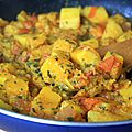 Curry de courge butternut