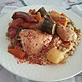 Couscous tunisien traditionnel