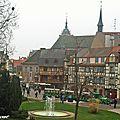 Église et couvent des Dominicains depuis le Musée Unterlinden